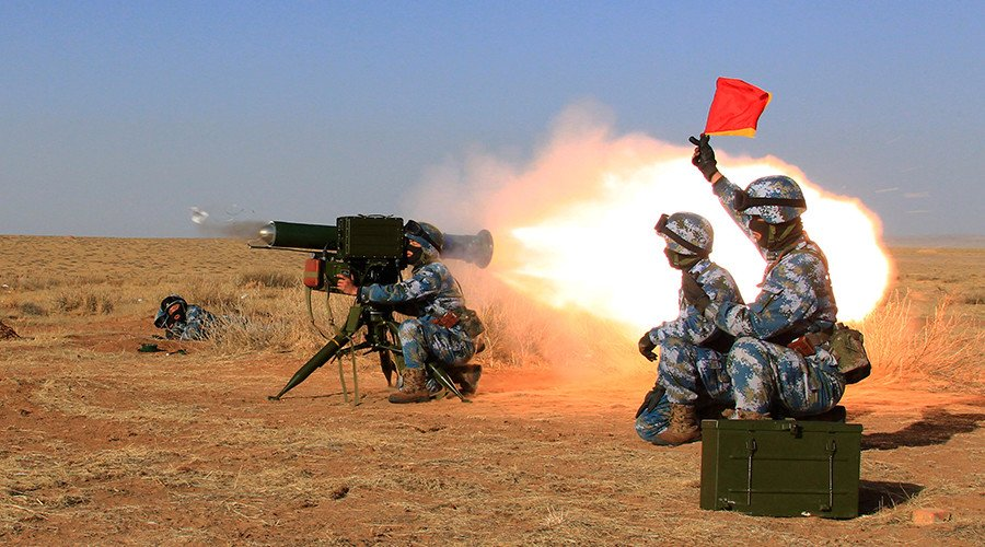 #China stages 1st live fire drills at overseas base in #Djibouti (VIDE...