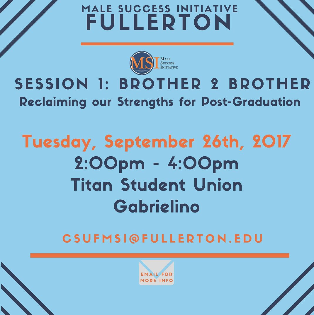 """Reclaiming our Strengths for Post-Graduation"""" tmrw in the TSU!#strengthsfinder #clifton #Gabrielino #postgrad #unity #positivity #challenge<br>http://pic.twitter.com/NS97Des8ZJ &ndash; at Titan Student Union"""