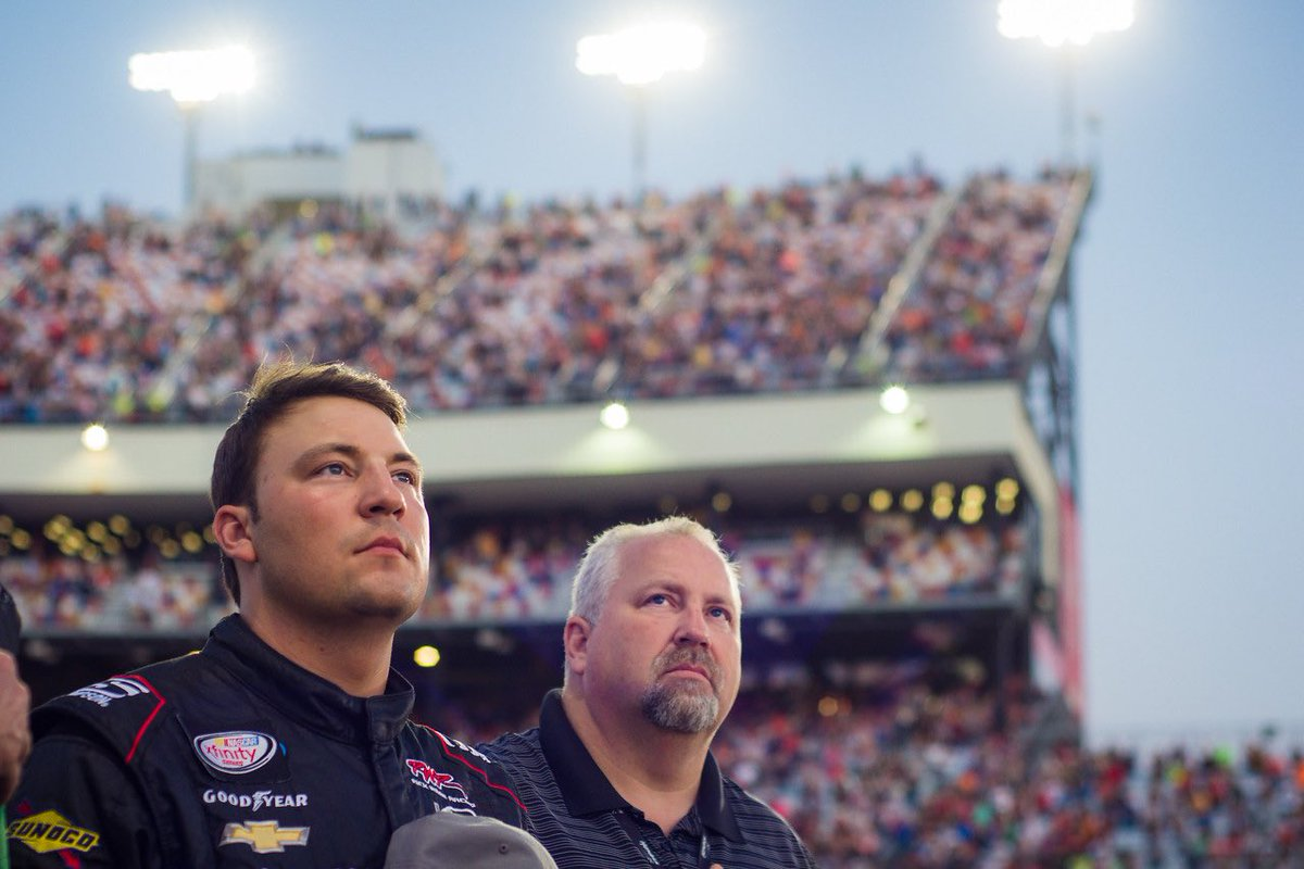 We stand! Love our sport! #GruntStyle #Nascar #USA <br>http://pic.twitter.com/7fbLdY2hhf