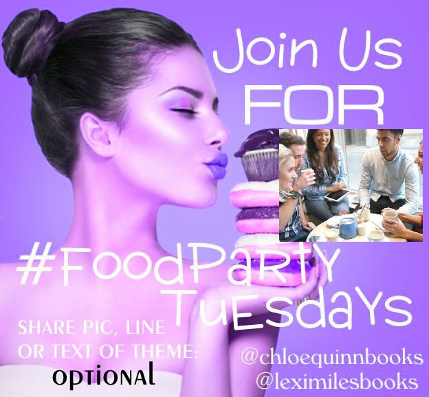 #FoodParty Tues 9-26 Theme: TALK/DIALOGUE  Share lines, pics, and random thoughts! #havefun <br>http://pic.twitter.com/nnyxGMGVWZ