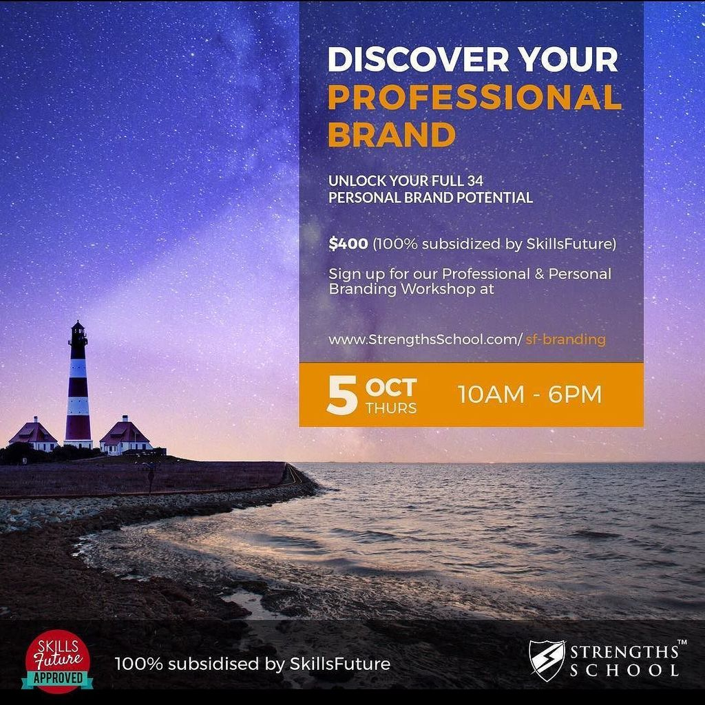#Singapore #StrengthsFinder #Professional #Branding #Workshop. Learn about your strengths and blindspots in order …  http:// ift.tt/2yDqVYQ  &nbsp;  <br>http://pic.twitter.com/jJkqbTKWd0