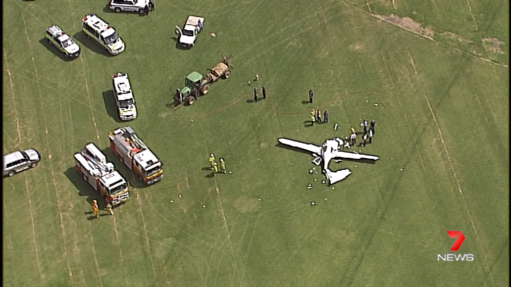 BREAKING: A light plane has crashed into...