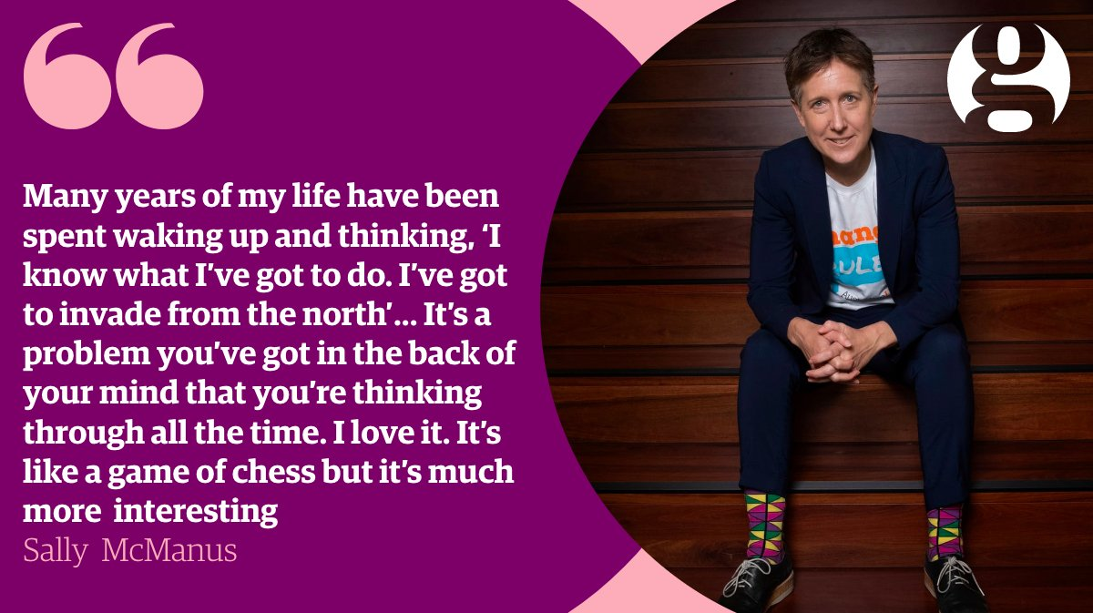 """If it surprises you that @sallymcmanus describes herself as """"the definition of a total #gamer"""", it shouldn't ...  https:// trib.al/8YFmrin  &nbsp;  <br>http://pic.twitter.com/LZeXUlxf1P"""