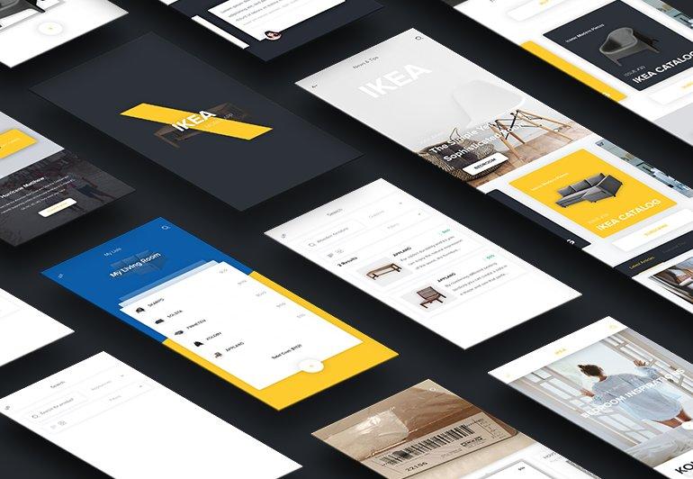 #设计参考 怎么重新设计宜家网站。Dribbble 系、视觉系的 fake design // Taking IKEA Out of Its Box and Redesigning It for 1.6B Users https://t.co/z1TcUCkLBw https://t.co/6cNiBHNxTC 1