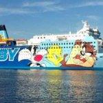 これがスペイン無敵艦隊?カタルーニャ独立問題でアニメプリントの「痛」客船が登場w
