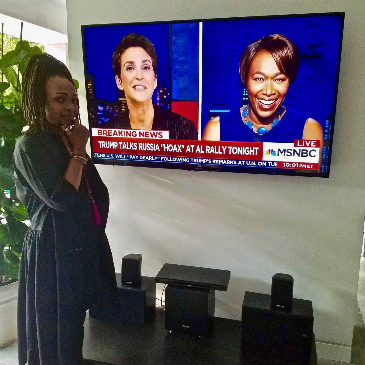 Nobody connects the dots for me like @JoyAnnReid &amp; Rachel @maddow on @msnbc. #maddow #AMJoy #reiders @amjoyshow #news #politics @MaddowBlog <br>http://pic.twitter.com/te8VSoens1