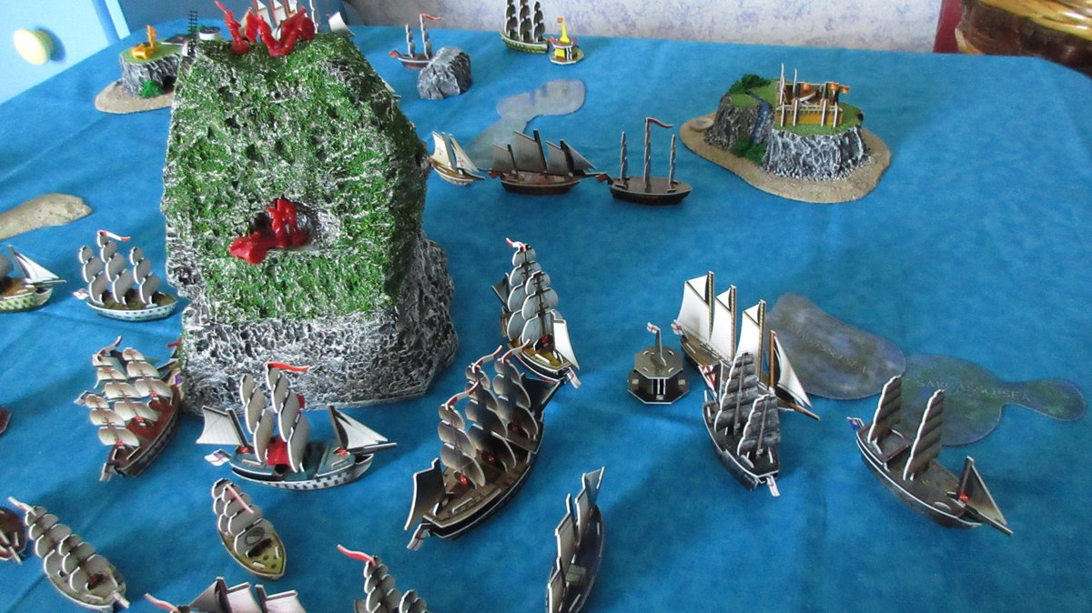 #ImLookingForwardTo playing this great game again!  #piratescsg #pirates #game #boardgame #boardgames #piracy #highseas #fleets #blue #sea <br>http://pic.twitter.com/WEh2AiWT5k