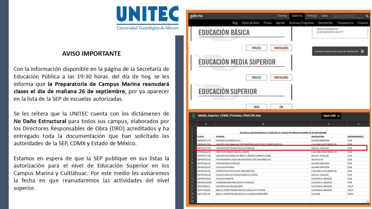 UNITEC México on Twitter: \