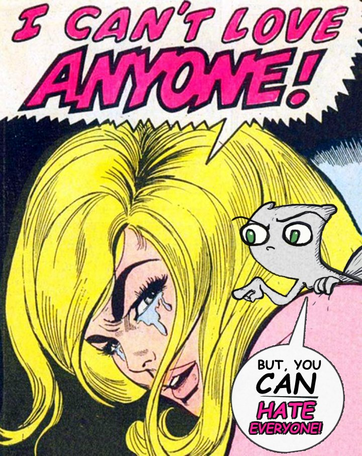 Foamy puts a positive spin on a negative feeling... #comics #parody #squirrel #comedy <br>http://pic.twitter.com/LBNjXkUa5f