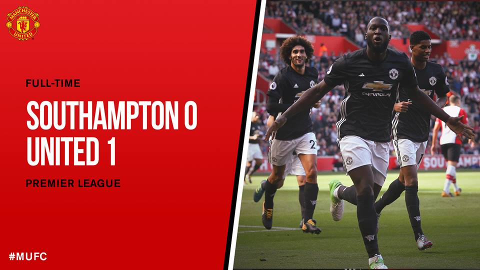 Another winning game for @ManUtd. A goal from Romelu Lukaku and another clean sheet for them. #MUFC  Cr. @ManUtd<br>http://pic.twitter.com/XbePvQ1Cf9