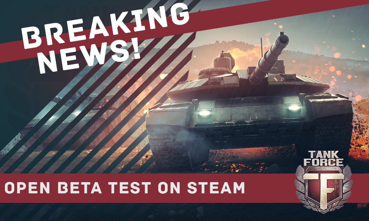 @Tank_Force  #Open #Beta test on #Steam link for downloading:  http:// store.steampowered.com/app/604500/Tan k_Force/ &nbsp; …  #gamesbr  #indiegame #indie #indiedev #games #gamedev<br>http://pic.twitter.com/ZYZB9JS2Sd