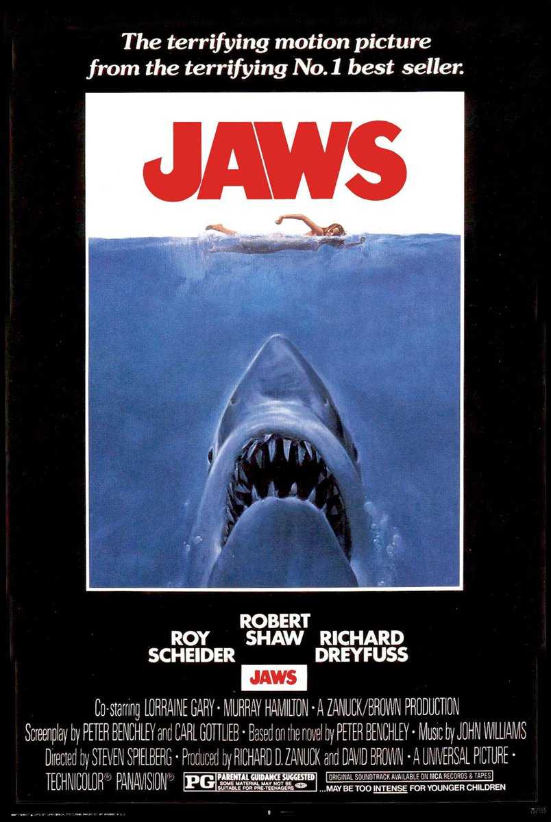 Often imitated but never duplicated! #jaws <br>http://pic.twitter.com/JldcG0u8OY