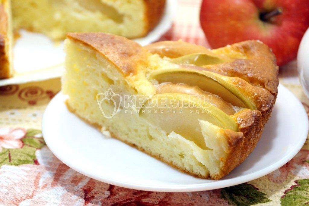 Шарлотка с яблоками пошаговый рецепт