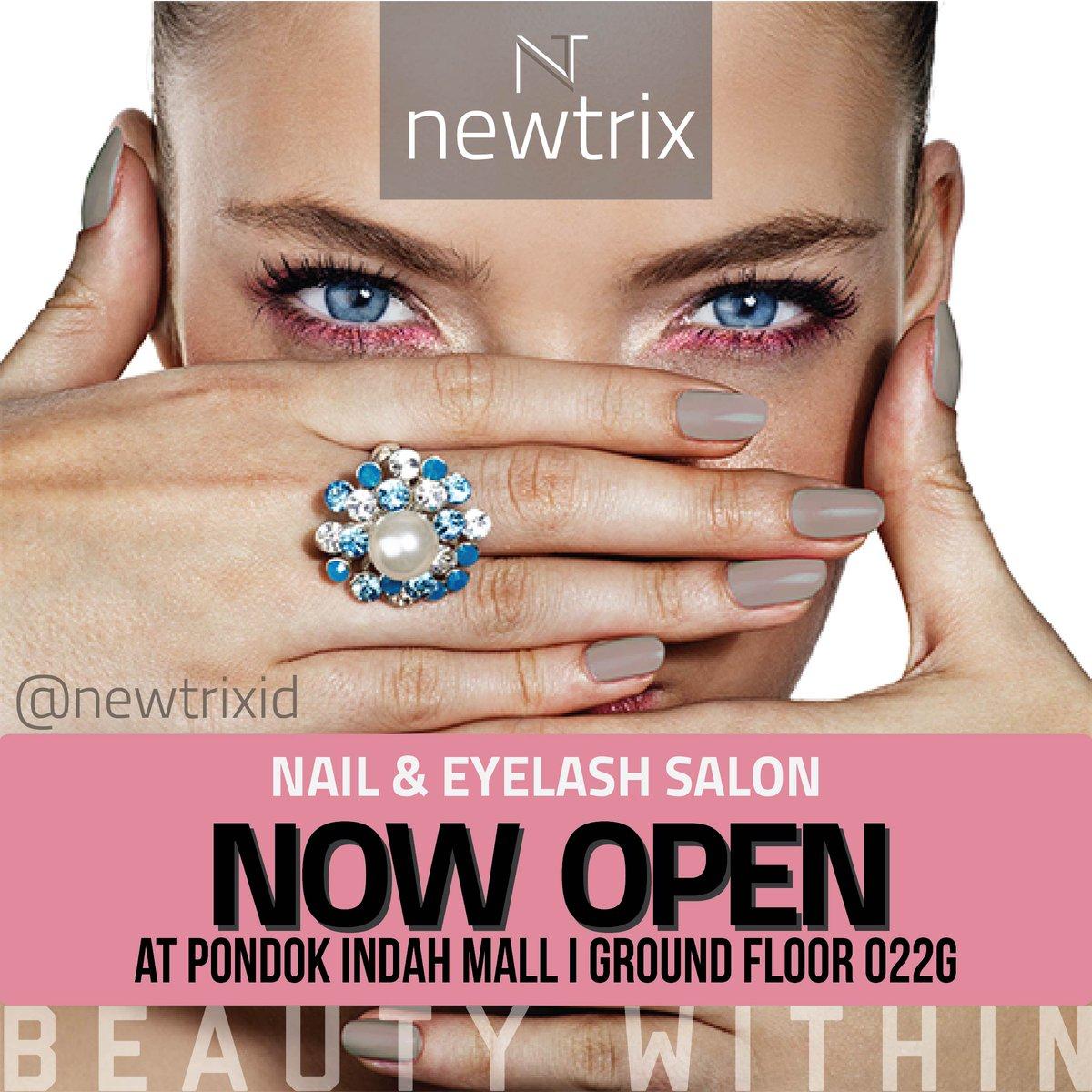 "Pondok Indah Mall On Twitter: ""NEWTRIX Nail & Eyelash"