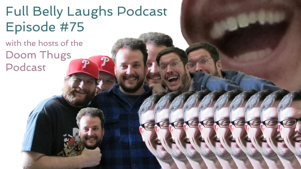 So excited to have the hosts from the #1 podcast in Delco, @DoomThugs, on the show #delco #comedy  https:// goo.gl/x7vJgf  &nbsp;  <br>http://pic.twitter.com/pYHtHqEqcf