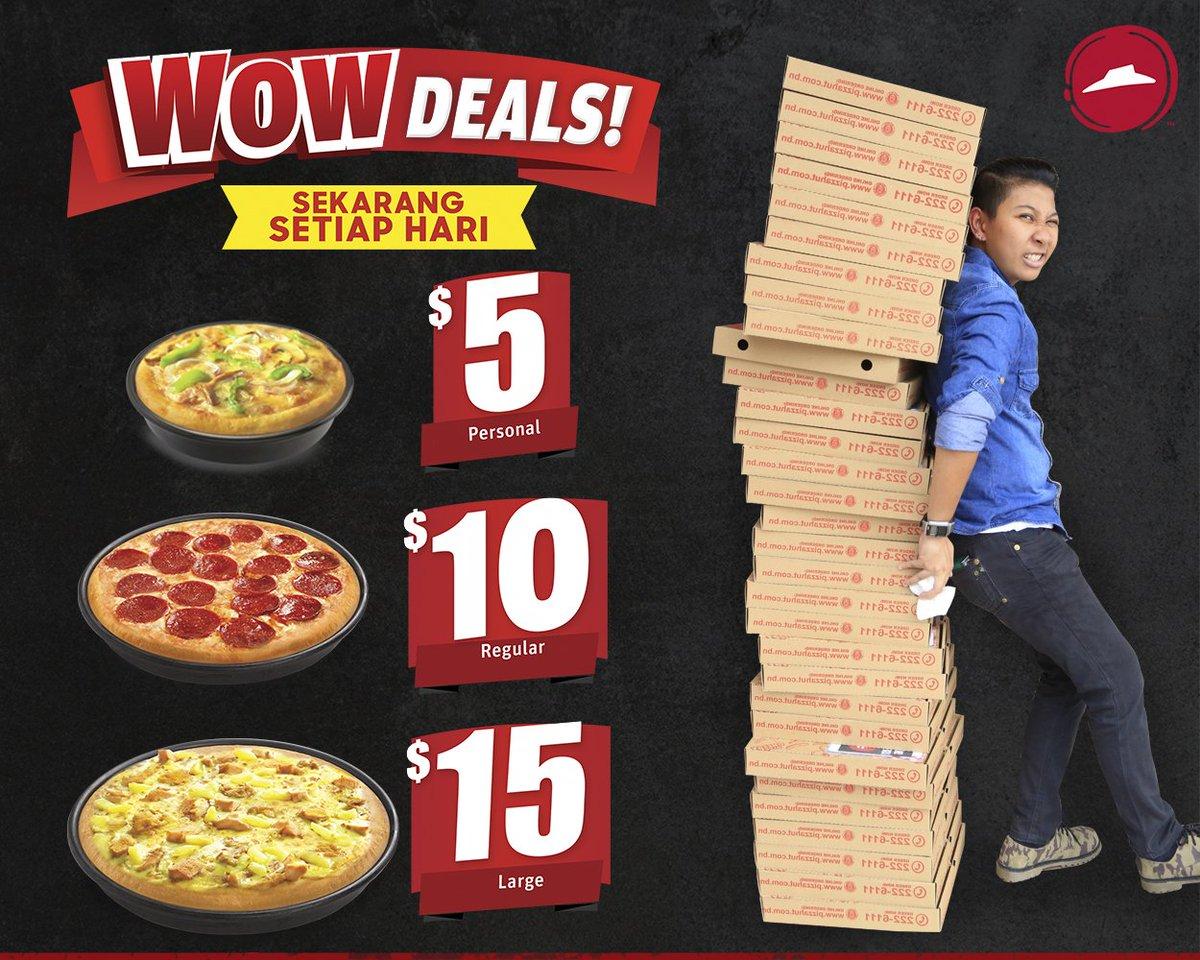 Pizza Hut Brunei On Twitter Phenomenal Deals You Just Can T Resist Wowdeals Pizzahutbrunei Lovepizza