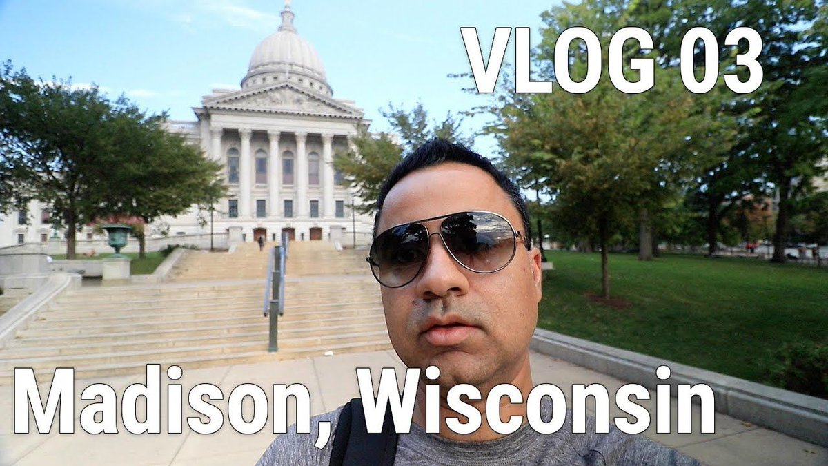 Madison WI VLOG from my trip to #USA #vlog #vlogging #travel #video #madison #wisconsin #us #wi #canon #aurorahdr  https:// youtu.be/M31OU0SChC0  &nbsp;  <br>http://pic.twitter.com/piiy9K3b3E