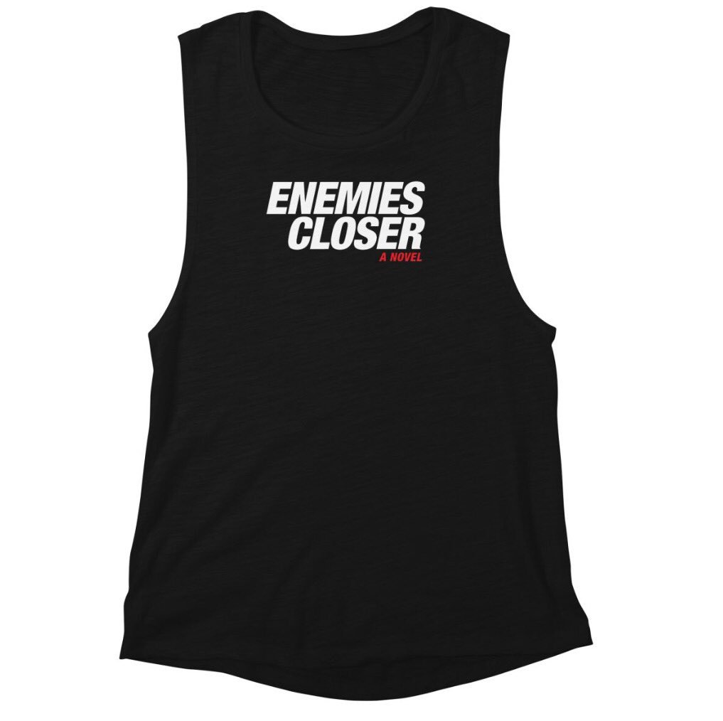 Enjoying the book? Get some awesome #EnemiesCloser merch at  http:// JOSHSABARRA.COM  &nbsp;  ! #books #reading #shirts #tshirts #tees #shop #shopping<br>http://pic.twitter.com/rvSszGfcP1