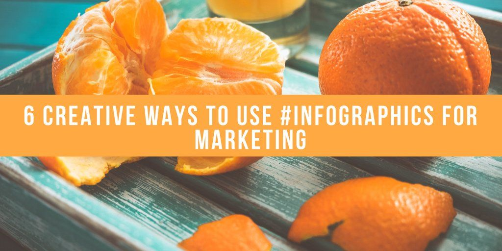 6 creative ways to use #infographics for marketing. Read at @socialmedia2day   https:// buff.ly/2fuZWqN  &nbsp;   #inboundmarketing<br>http://pic.twitter.com/vJzwytKxe1