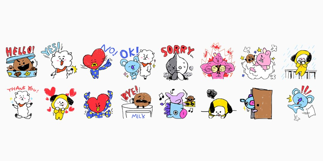 Info Bt21 Created By Bts 170926