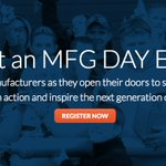 Help us make 2017 another record year by registering your #MFGDay17 event by 10/6! https://t.co/dFcuMXpfPq by #JB_ContainerCo