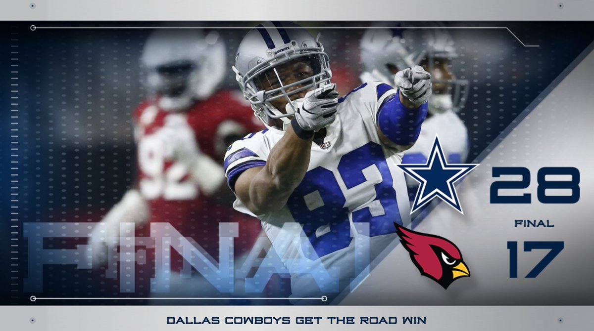 #DallasCowboys get the W on Monday Night Football! #DALvsAZ https://t....