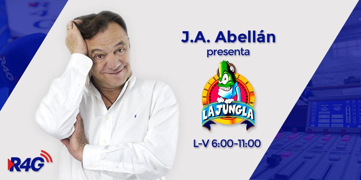 #FelizMartes! Ya está @jaabellan animando la mañana radiofónica en @La...