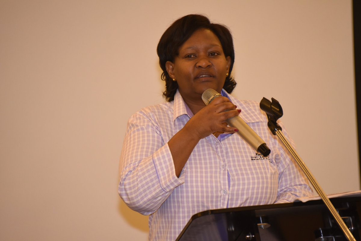 The future is #Green! #Nurturing but firm #Leadership @KenGenKenya #Nowhappening MD&amp;CEO @rebecca_miano leading the #KenGen #Strategy Forum <br>http://pic.twitter.com/gmuT1PCzir