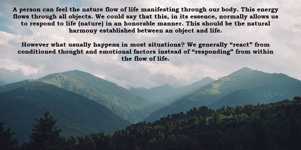 The steady pulsating #energy of life #consciousness can be sensed in the background of our activities. #Awareness #lifeisgood #ASMSG #IARTG<br>http://pic.twitter.com/FTwQq1LL08