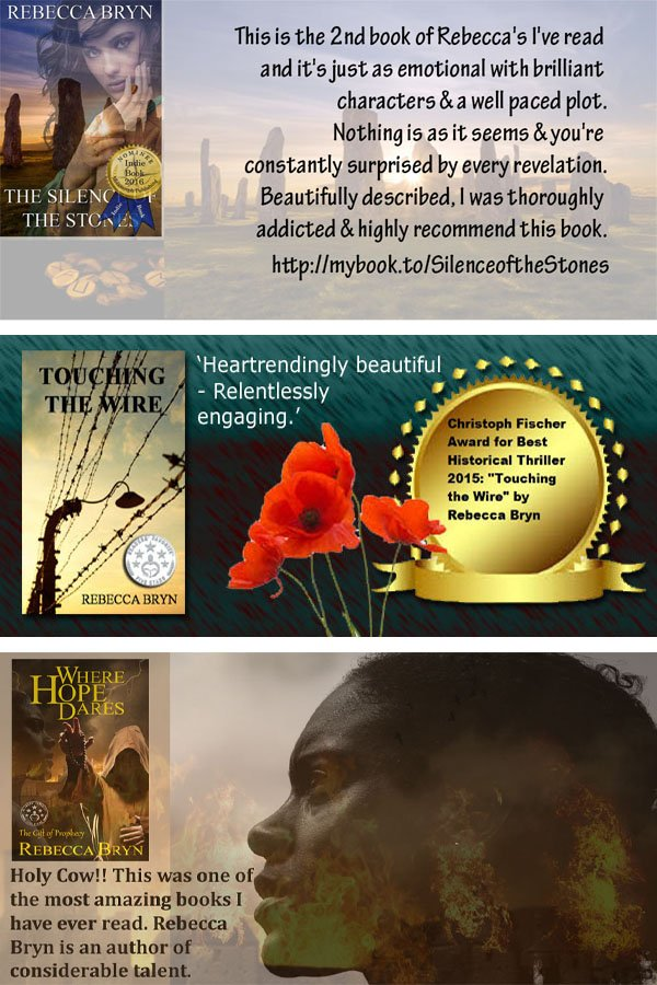 #Books Thrillers with a twist at IAN  http://www. independentauthornetwork.com/rebecca-bryn  &nbsp;   &#39;outstanding storytelling&#39; #ian1 #asmsg<br>http://pic.twitter.com/9qL9aMhVqf