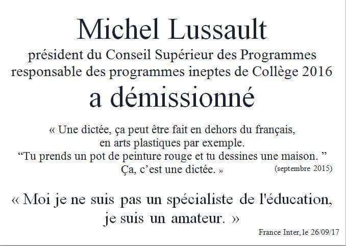 Démission de Michel Lussault, président du Conseil Supérieur des Programmes - Page 5 DKo54Y7W4AAEtGn
