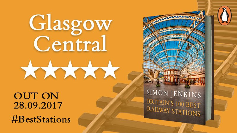 Have you ever been to #GlasgowCentral? It just happens to be one of the #top10 #BestStations in the UK according to Simon Jenkins! <br>http://pic.twitter.com/jodLpCS6x7