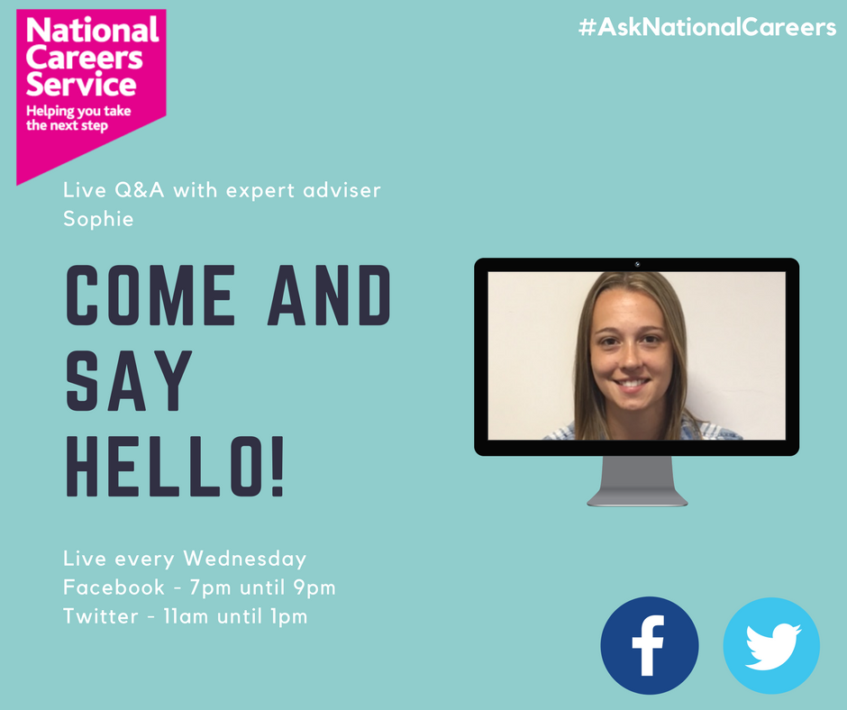 Do you know someone who needs #employment or #career advice?  Retweet and comment to let them know we&#39;re here #AskNationalCareers<br>http://pic.twitter.com/gLefHbaCP2