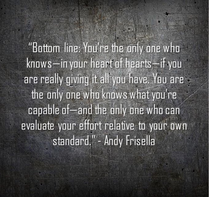 Bottom Line. Only You can evaluate your...