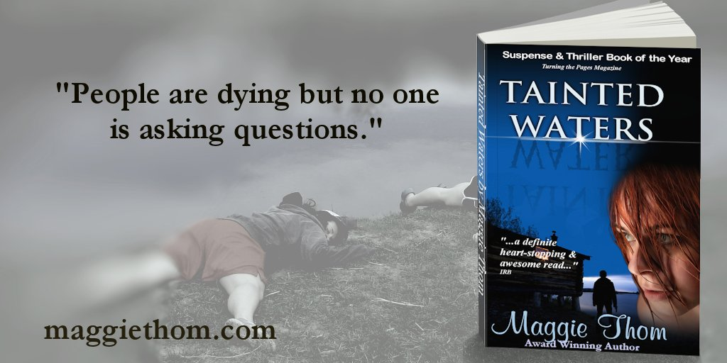 TAINTED WATERS by @maggiethom2 – &quot;A thriller with a bang&quot; (5* V. Johnson)  http:// geni.us/7M60  &nbsp;   #crime <br>http://pic.twitter.com/OqFG9mJ4HQ