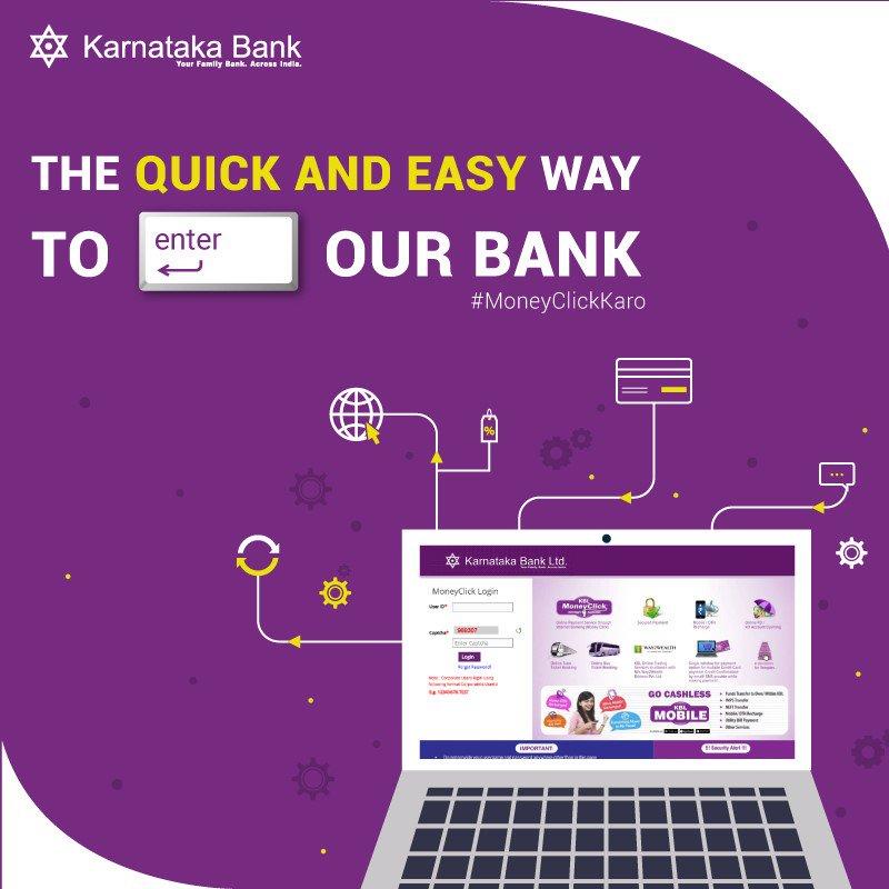 karnataka bank moneyclick