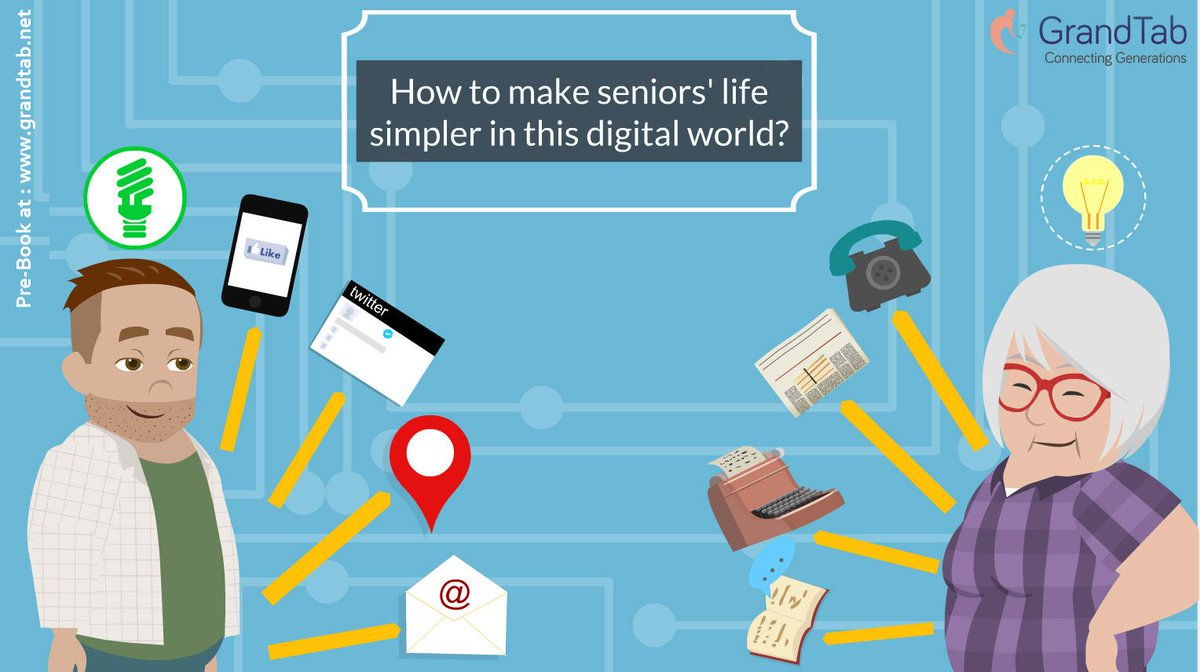GrandTab lets your senior embrace the digital world with utmost ease!  Pre-Book today at  http://www. grandtab.net  &nbsp;   #GrandTab  #Love #Care<br>http://pic.twitter.com/DFUvEQFwDt