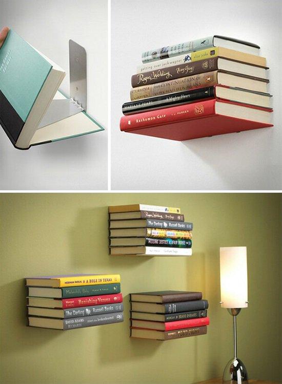 A mind-blowing bookshelf. Would you like to make it? #DIY #homedecor (via bonjourlife)<br>http://pic.twitter.com/CzwiMopTiu