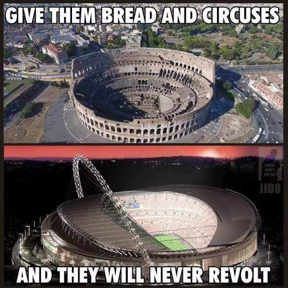 Are you a part of &quot;BREAD AND CIRCUSES&quot; ? #sports #Television #media It&#39;s a time for #Revolution just #RevoltNow  #wakeup<br>http://pic.twitter.com/ELrsWfuY1u