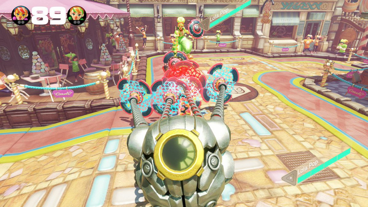 I Still question this #ARMS #NintendoSwitch<br>http://pic.twitter.com/XXKGluYElT