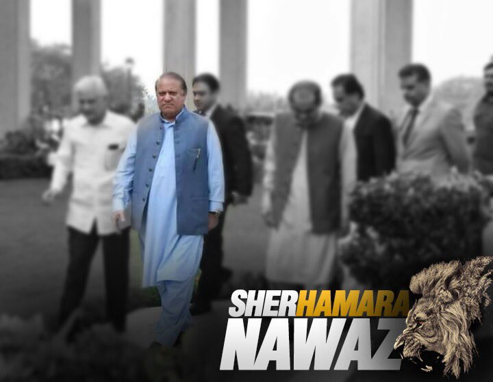 Backed up by the masses, Nawaz Sharif leads the fight to restore the s...