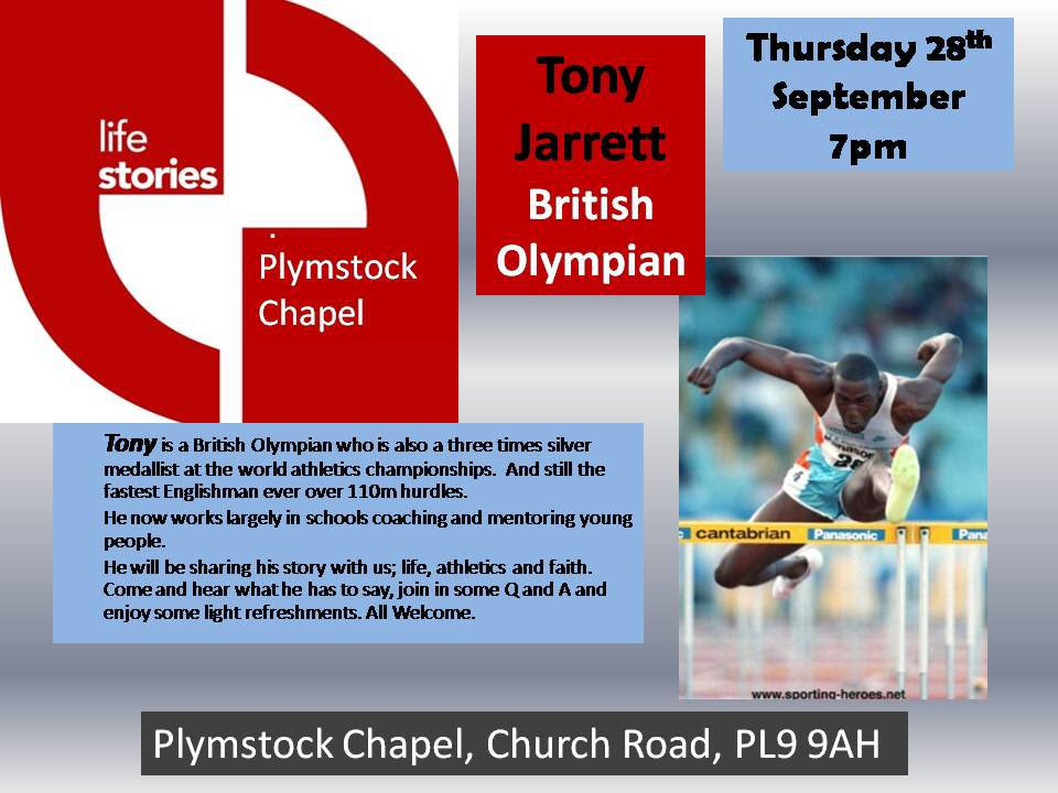 Don&#39;t miss this #Live #LifeStories event in #Plymouth with @tonyjarrett110 ...  #Devon #pafc #Argyle #TuesdayThoughts #charitytuesday #IAM<br>http://pic.twitter.com/ZD2vRJfK7w