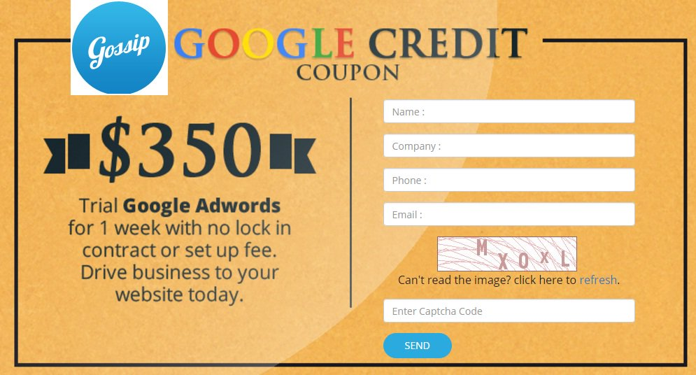 Special offer by #Gossip for Google Adwords services for your Business: -Visit  http:// bit.ly/2huOgb6  &nbsp;   -Call us at 1300931696 #GoogleAdwords <br>http://pic.twitter.com/isvahTGOqJ