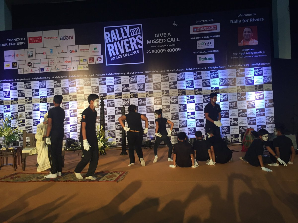 Rally For Rivers On Twitter Students Of Millenium School Perform A