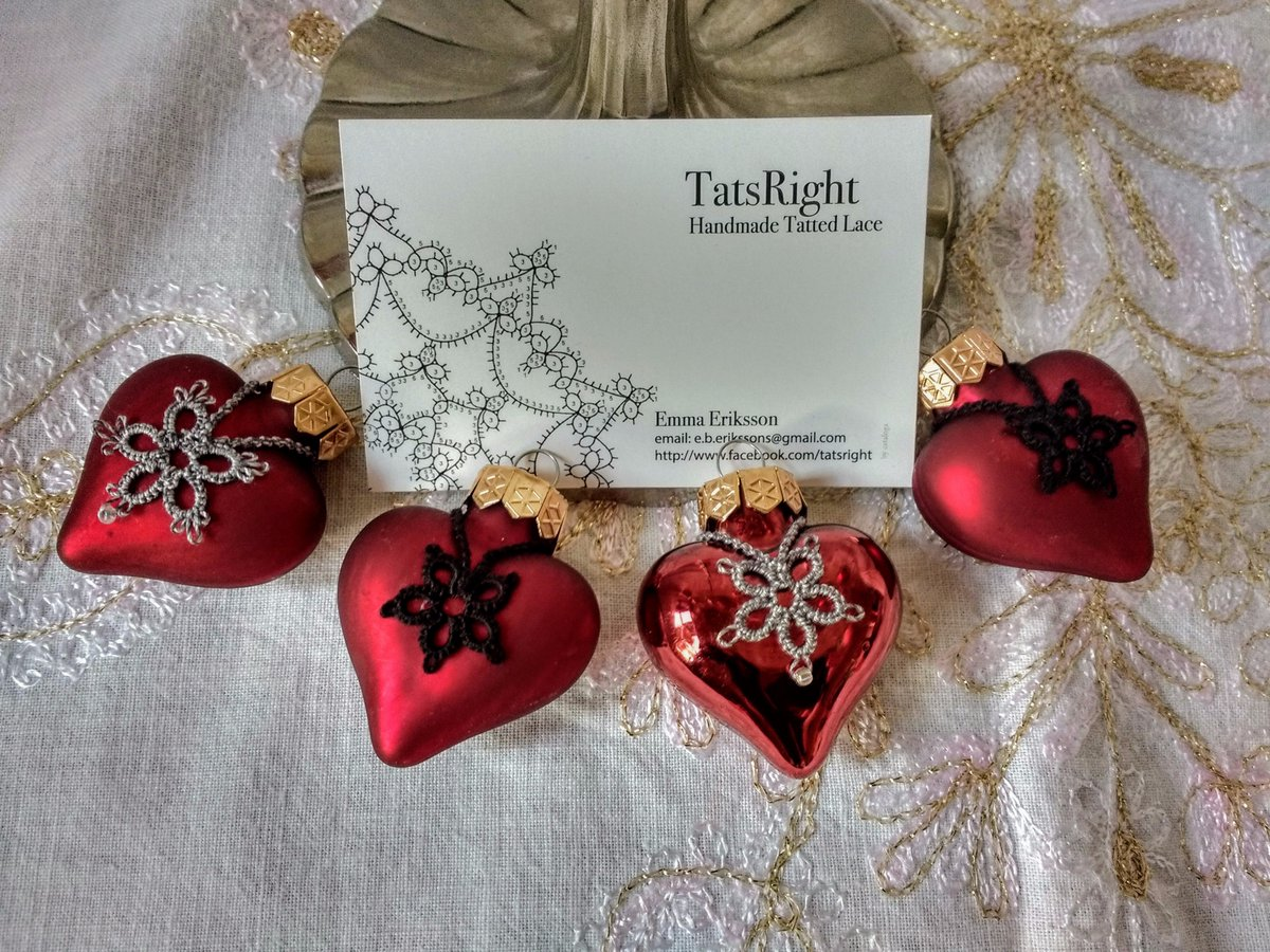 #Xmas soon and I need to get #tatting #snowflakes #coasters #decorations. Stocked up on #red #white #green thread! #earlybiz #ATSOPRO #SNRTG<br>http://pic.twitter.com/zdu157cnoc