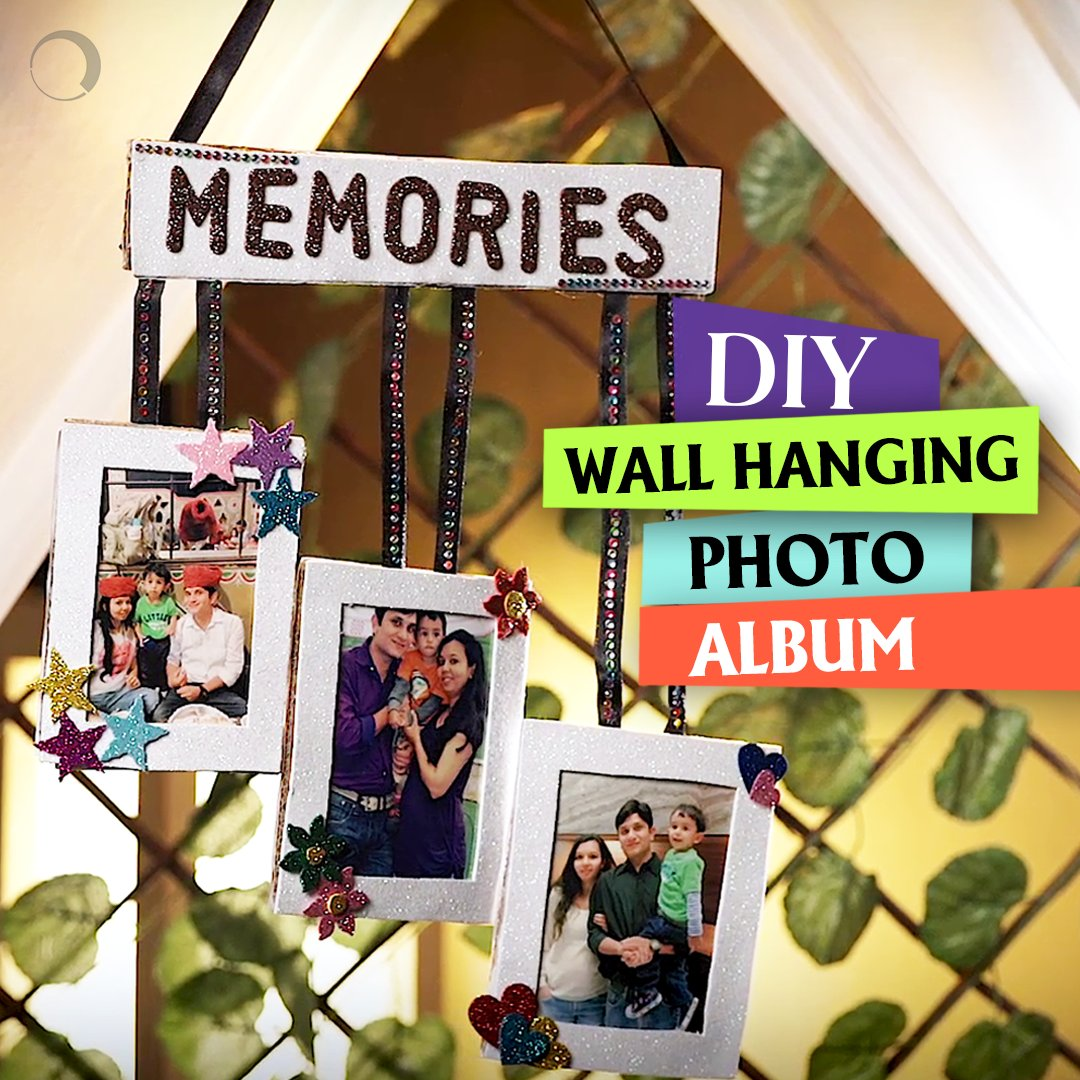 Photos capture time and that&#39;s how memories are created. Here&#39;s #diy to create your own wall hanging photo frame.  http:// bit.ly/DIYWallHanging  &nbsp;  <br>http://pic.twitter.com/kmcoZj88nA