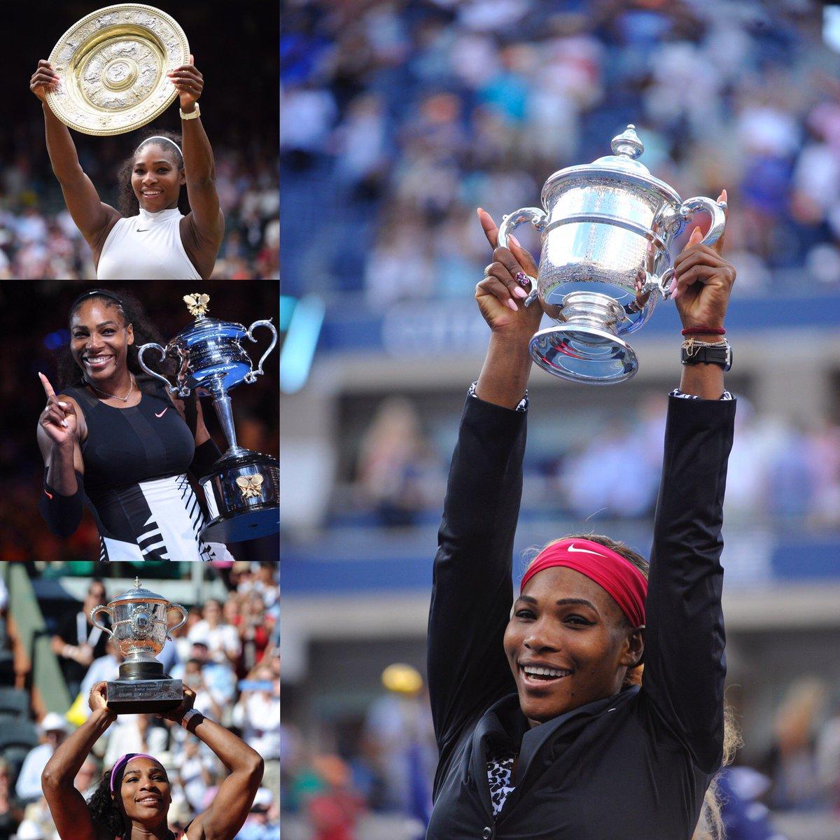 7 x Australian Open 🏆 3 x French Open 🏆 7 x Wimbledon 🏆 6 x US Open 🏆...