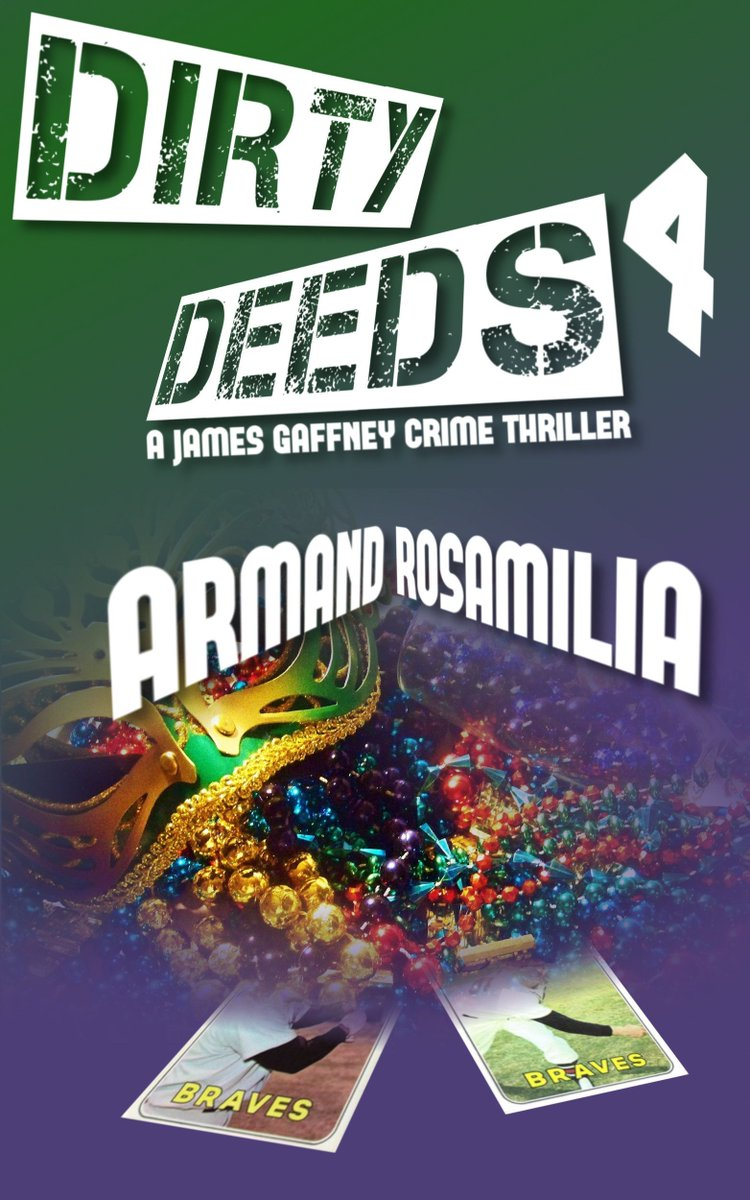 The Big Easy. Except for me, I guess.  Dirty Deeds 4 #crime #thriller by Armand Rosamilia  https:// buff.ly/2xfiEvx  &nbsp;  <br>http://pic.twitter.com/nkW32fjC34