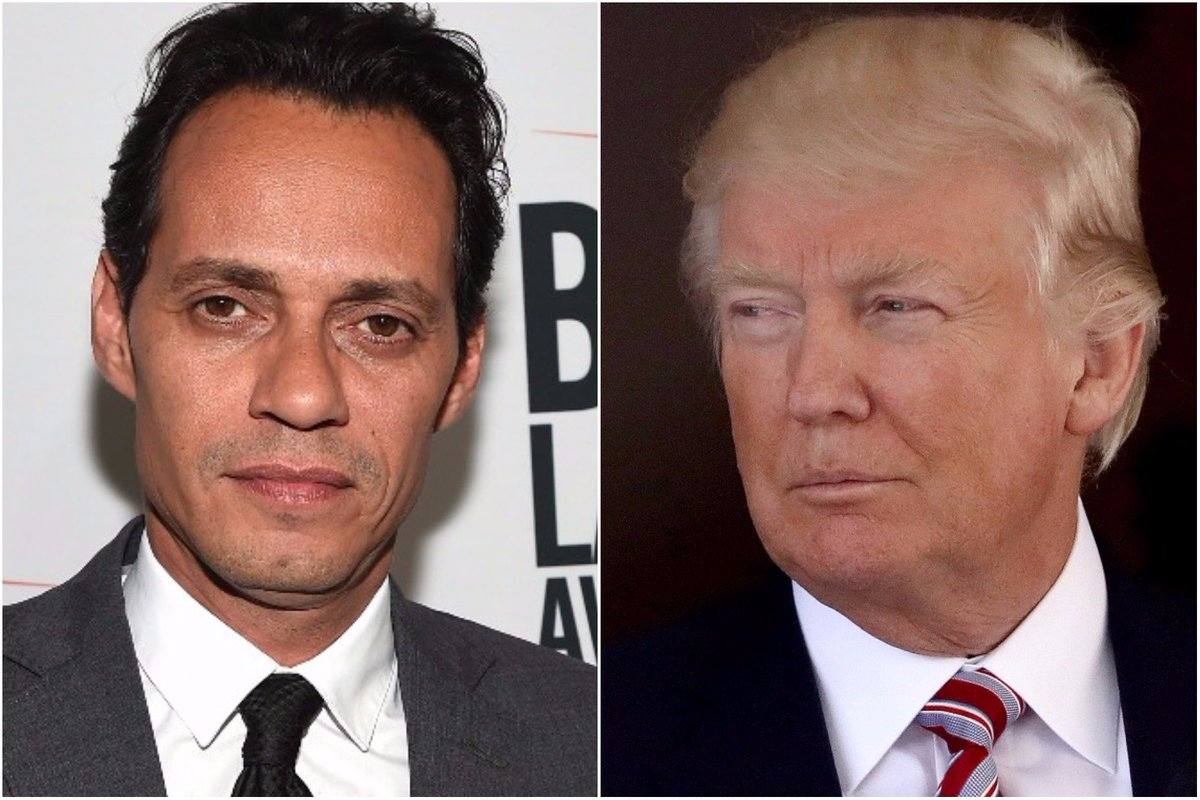 Marc Anthony to Trump: 'Shut the f— up' about the NFL, help Puerto Rico https://t.co/xOY7WrAjXv https://t.co/EJrXF1NzBE