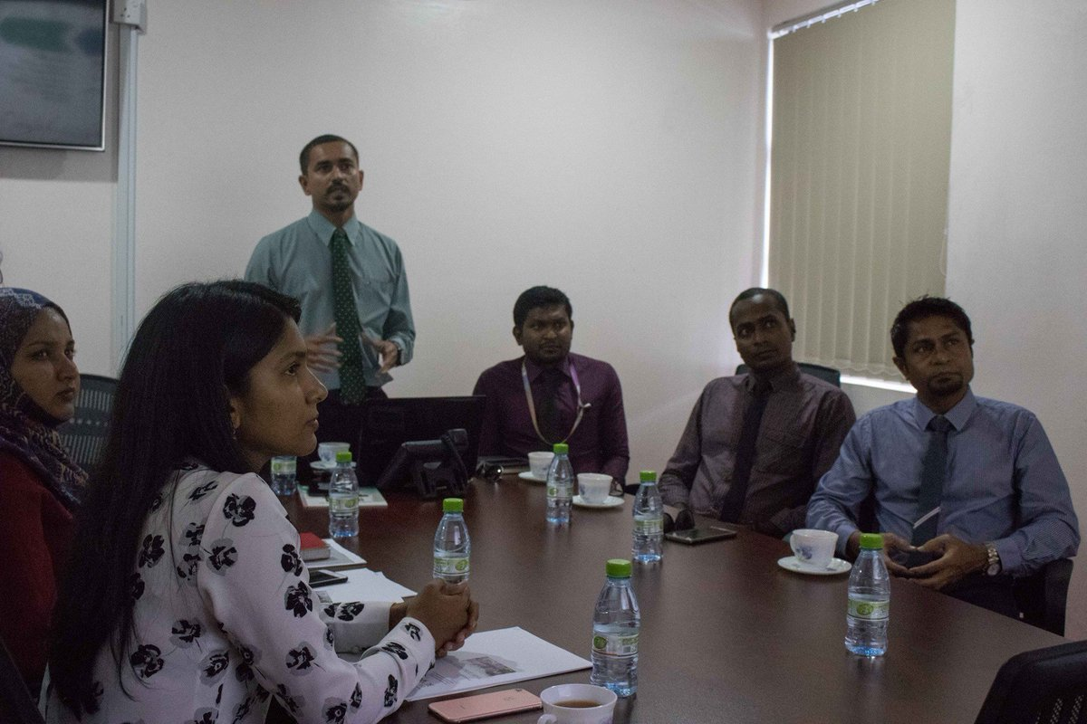 SportsCo met with @Min_Gender to present proposed sports programs for Kuda Kudhinge Hiyaa and Fiyavathi #LetsPlay #Sports <br>http://pic.twitter.com/Eo9kVmj0OB